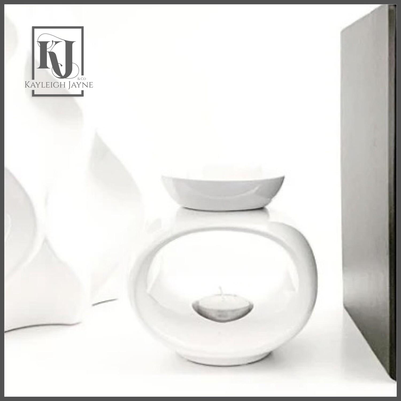 Ceramic Wax Melt Burner - Rome