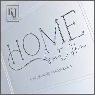 Stardust Crystallised Print®️ - Home Sweet Home A4 Print