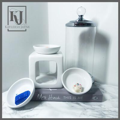 Milan Trio Burner & Ivy Glass Storage Jar Gift Set