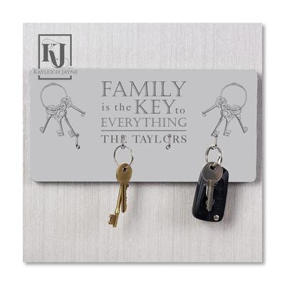 Personalised Key Hanger