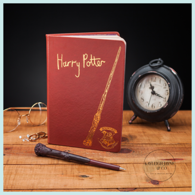 Harry Potter Notebook And Wand Pen Set