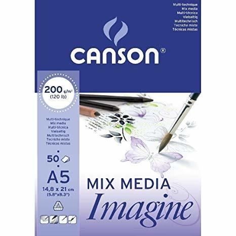 Альбом Canson Imagine формата A5 (50листов)