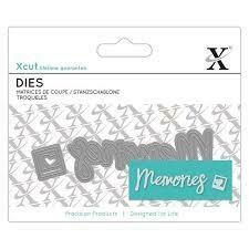 Форма для вырубки Xcut - Memories