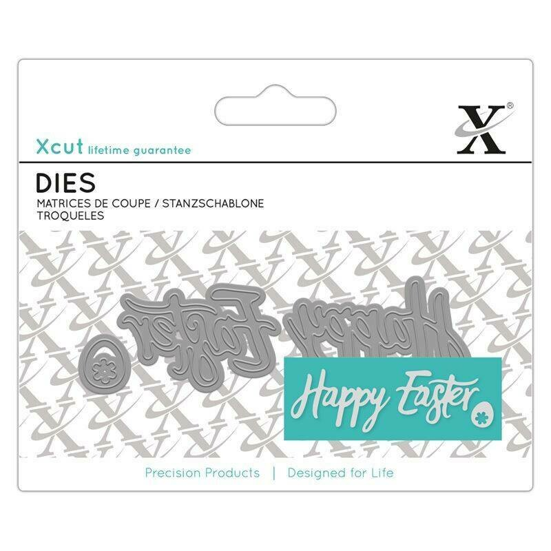Форма для вырубки Xcut - Happy Easter