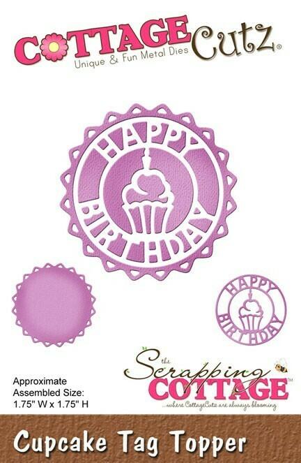 Нож Cottage Cutz - Happy Birthday