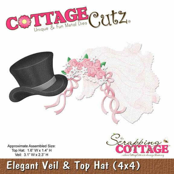 Нож Cottage Cutz - Elegant Veil