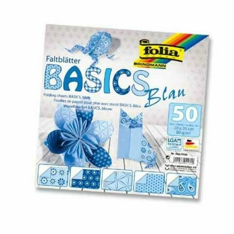 Бумага для оригами 20*20 FOLIA (20 листов)