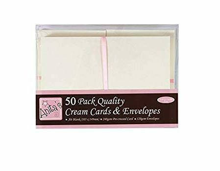 Конверты + заготовка для открыток А6 Docrafts (50 шт)