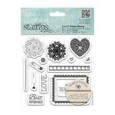 "Набор штампов DOCRAFTS 5 x 5"" (14pcs) - Craft Collection - Pastels"
