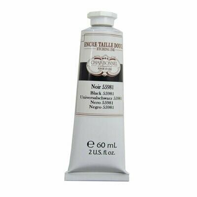 Краска гравюрная Lefranc Bourgeois Charbonnel Etching Ink черная 60 мл