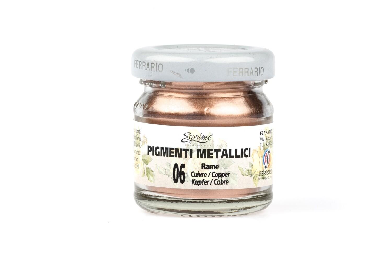 Металлический пигмент FERRARIO 40ml
