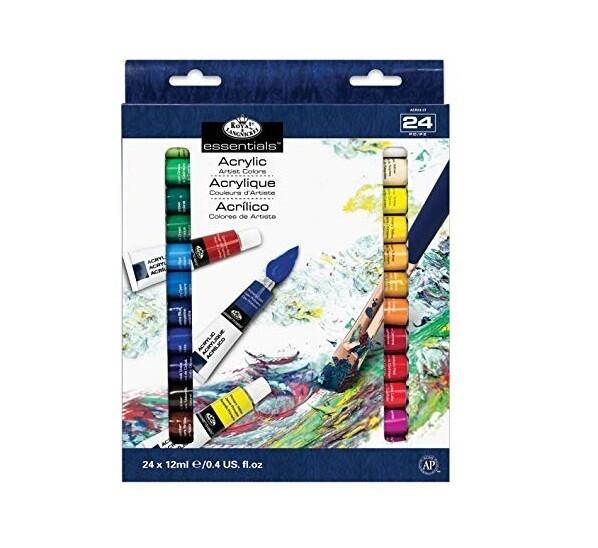 Краски акриловые в наборе Royal&Langnickel  24*12 мл