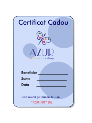 Certificat cadou