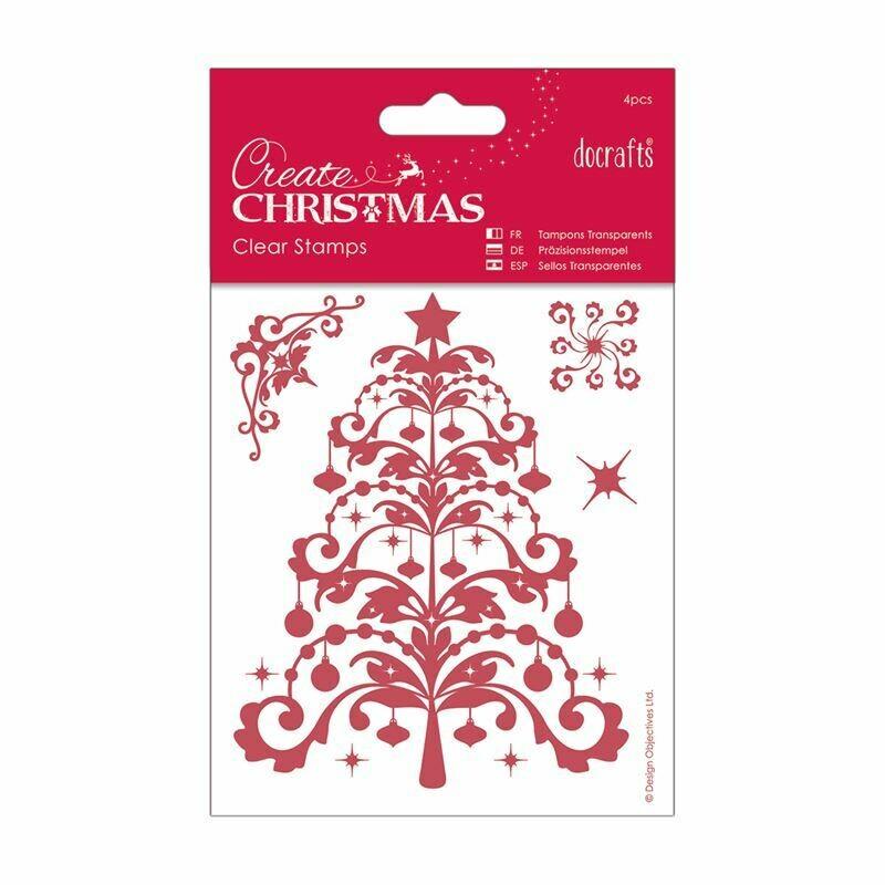 Набор штампов 106 x 127mm - Merry Christmas