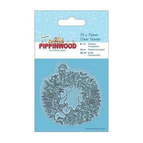 Набор штампов Pippinwood Christmas 75mm*75mm