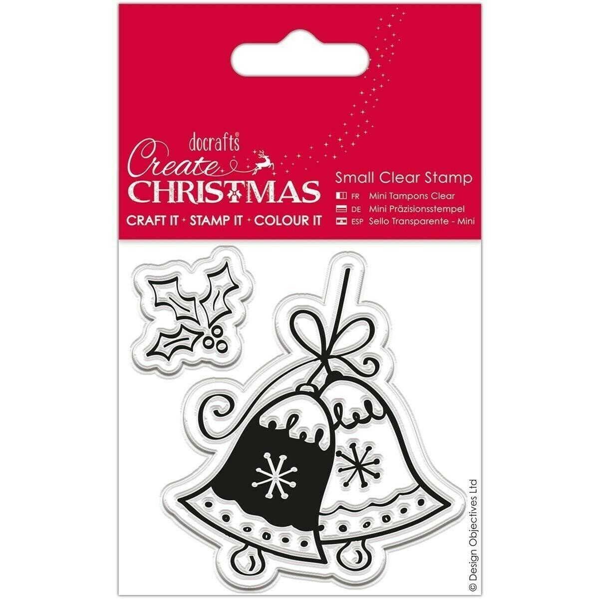 Набор штампов - Christmas Bell 8,2 x 13,2 cm
