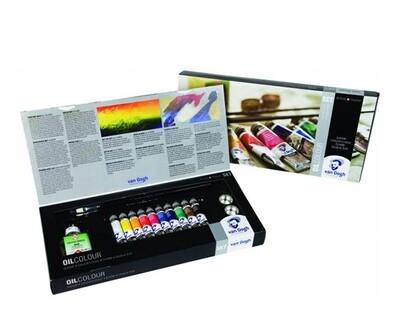 Набор масляных красок Van Gogh Combiset 10 цветов по 20 мл