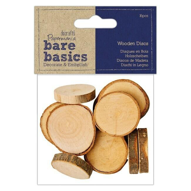 Набор деревянных спилов 16 шт Docrafts