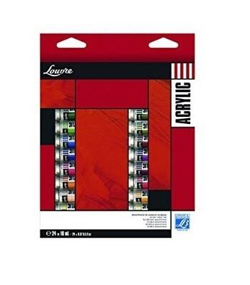 Акриловые краски Lefranc & Bourgeois 24цв
