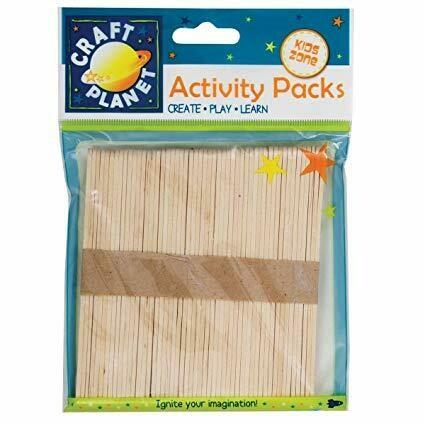 Batoane din lemn Docfafts 50 buc