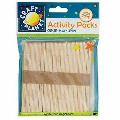 Палочки деревянные Docfafts 50 шт