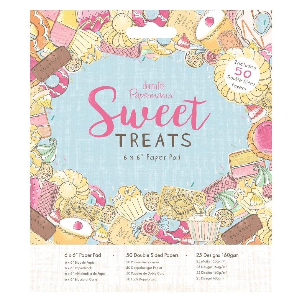 Set de hârtie 15 * 15 Docrafts Sweet Treats