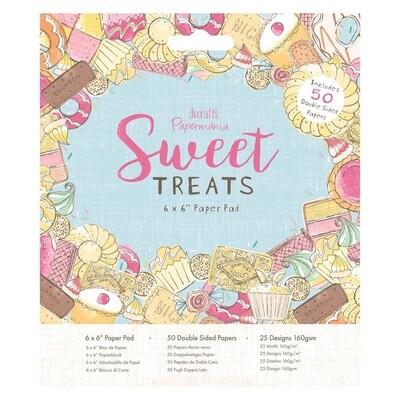 Набор бумаги 15*15 Docrafts Sweet Treats