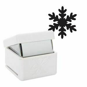 Perforator decorativ Xcut snowflakes 2.5 cm