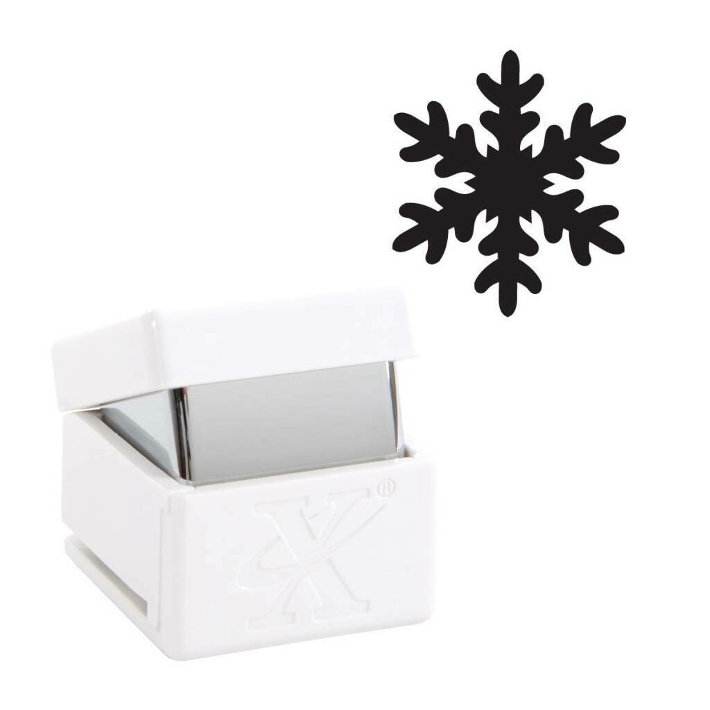 Perforator decorativ  Xcut snowflakes 1,6 cm