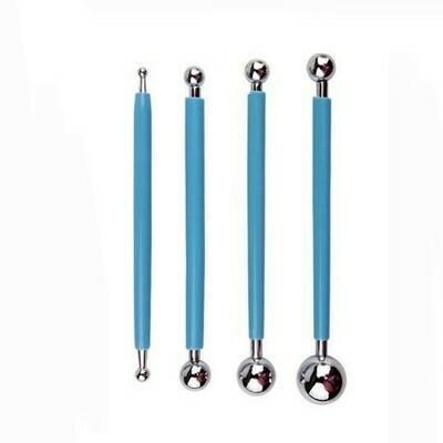 Набор инструментов для тиснения 4 шт