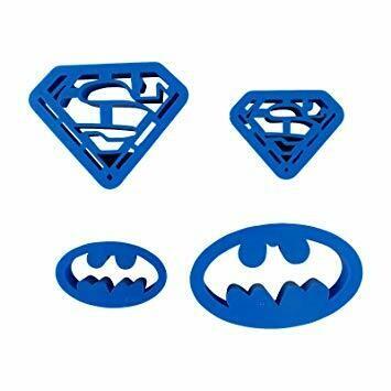 Формы Супергероев для глины 4шт