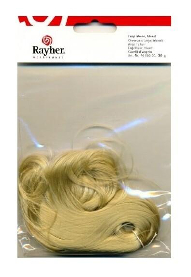 Волосы для кукол искусственные, блондин Rayher