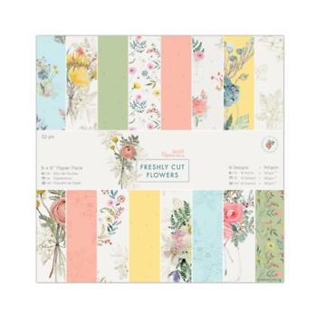 Набор бумаги 15*15 см Docrafts Freshly Cut Flowers