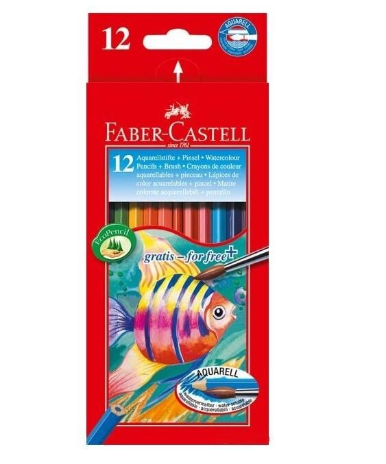 Набор акварельных карандашей Faber-Castell 12 шт