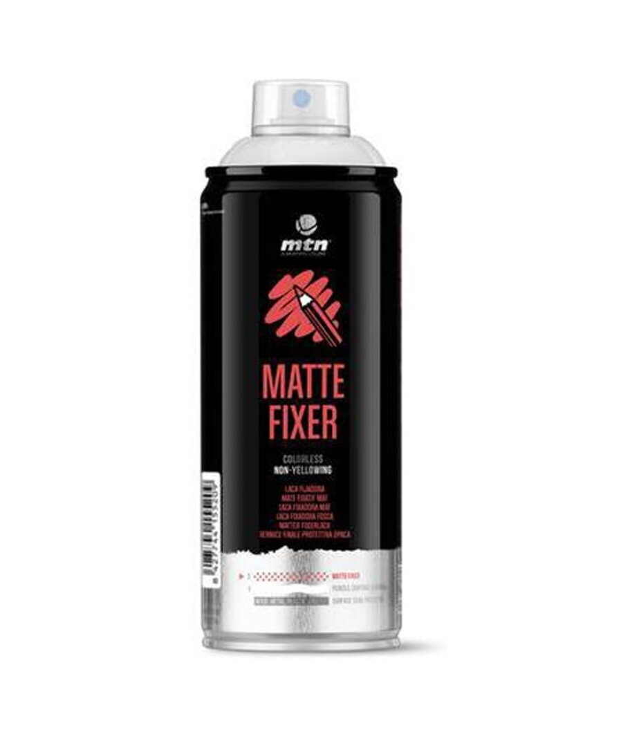 Lac fixativ mat pentru pastel MTN PRO Matte Fixer 400ml