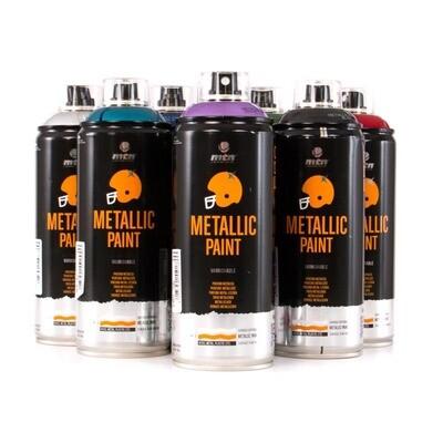 Спрей MTN PRO Metallic Paint 400 мл