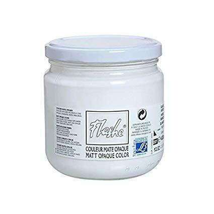 Краска Lefranc & Bourgeois флуоресцентная белая 125мл