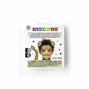 Set pictura pe față Snazaroo Mini Tigru 3 cul + accesuare