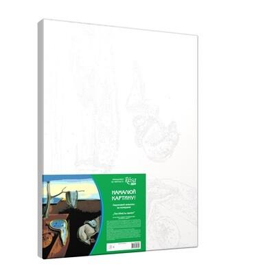 Акриловая живопись по номерам 35х45 см (в ассортименте)