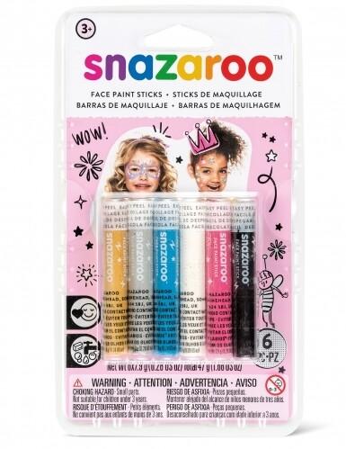 Набор Snazaroo красок-мелков для лица, 6 цветов