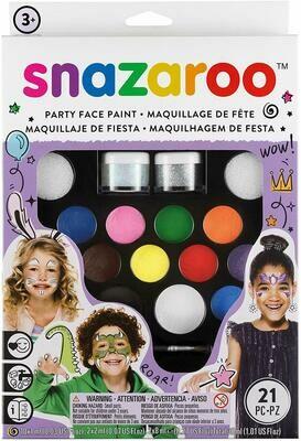 Set pictura pe fata Ultimate Party Snazaroo