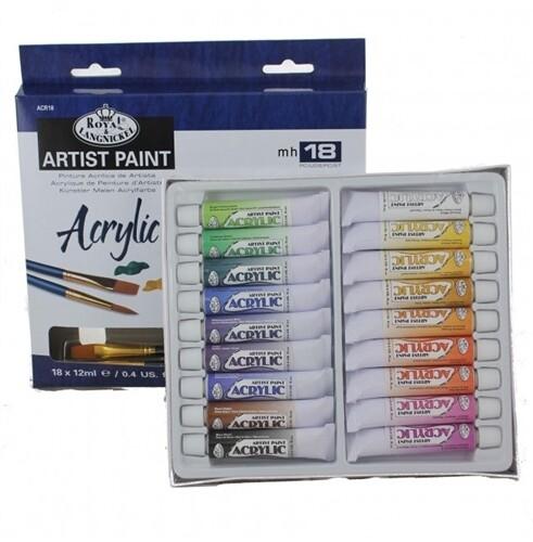 Краски акриловые в наборе Royal&Langnickel 18х12 мл