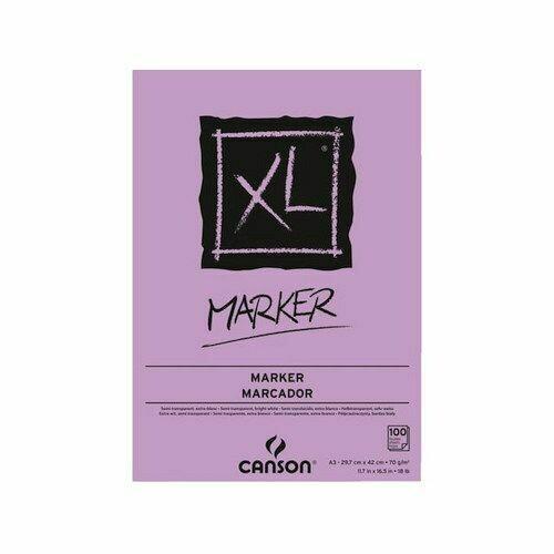 Альбом для маркеров Canson XL Marker Pad (A3, 70г/м2, 100 листов)