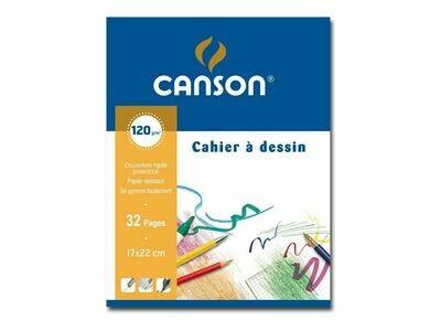 Альбом для набросков Canson 17x22cm 32 листа