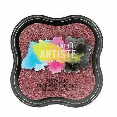 Тушь для штампов Pearlescent Pigment Ink Pads Docrafts