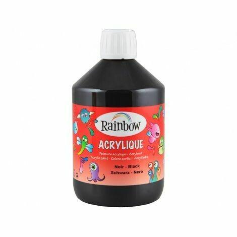 Vopsea acrilica pentru copii Rainbow 500 ml
