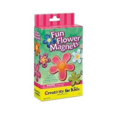 Набор для творчества Fun Flower Magnets by Creativity For Kids
