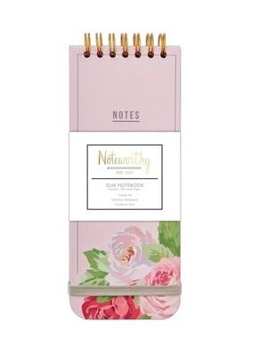 Блокнот для записей Graphic Florals на спирали 7,5см х 18,5см