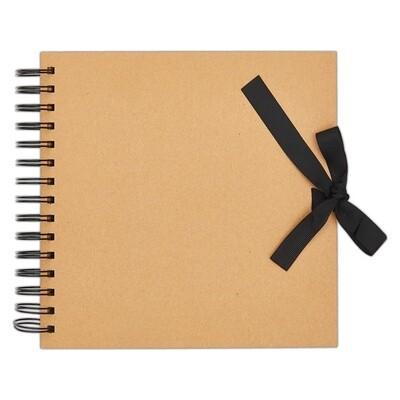 Альбом для скрапбукинга - Kraft 20,5см X 20,5см, 40 страниц