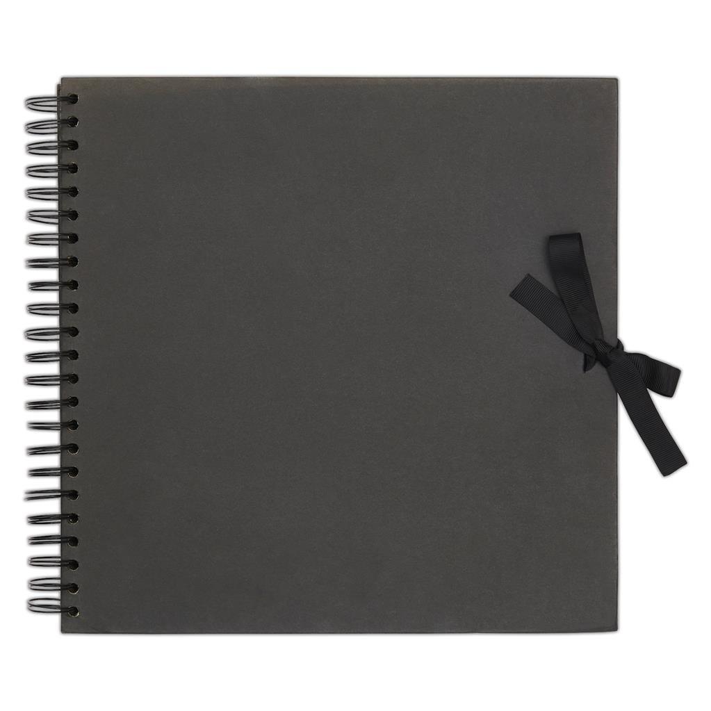 Альбом для скрапбукинга - Black 30,5см X 30,5см, 40 страниц
